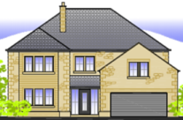 2 New Five Bedroom Detached Properties in Longridge