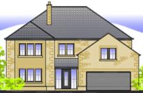 2 New Five Bedroom Detached Properties in Longridge